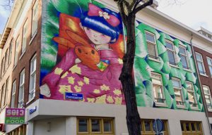 Rotterdam Street Art Museum West-Kruiskade