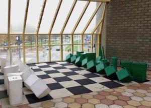 Rotterdams schaakspel - Schaakspel museum Rotterdam