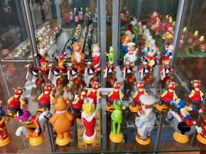 Schaakspel museum Rotterdam- Muppets