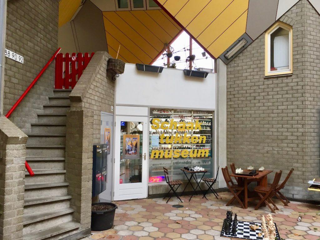 Schaakstukken Museum Rotterdam