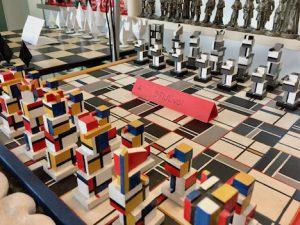 Schaakstukken museum - de Stijl