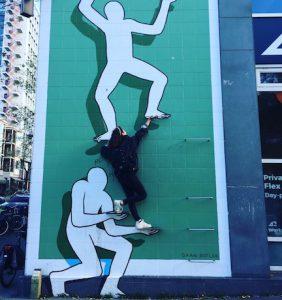 Street art route Rotterdam
