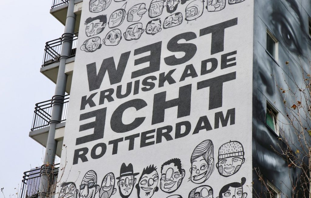 Rotterdam Street Art Museum - West-Kruiskade