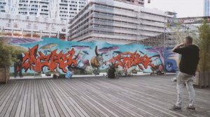 Street art festival Walls and skin Rotterdam
