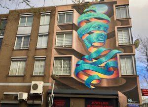 WD - street art museum Rotterdam